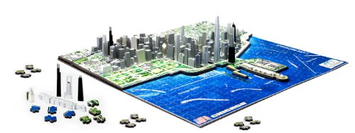 4d Chicago Cityscape Time Puzzle Lingua Inglese Inglese Giocattolo 1 Novembre 2010 0 0