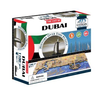 4d Cityscape Time Puzzle Dubai Inglese Giocattolo 1 Novembre 2013 0