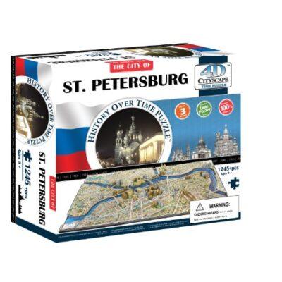 4d Cityscape Time Puzzle San Pietroburgo Inglese Giocattolo 1 Gennaio 2013 0