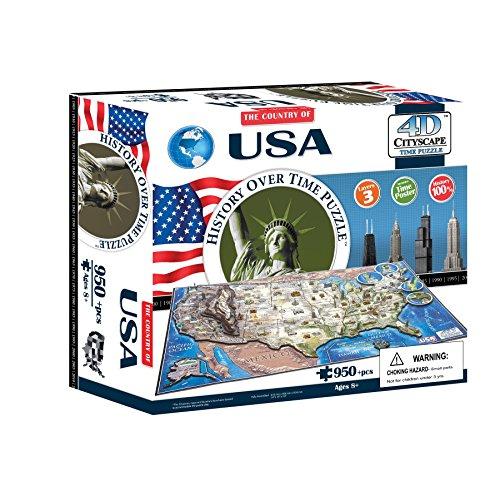 4d Cityscape Time Puzzle Usa Inglese Giocattolo 1 Settembre 2012 0 0