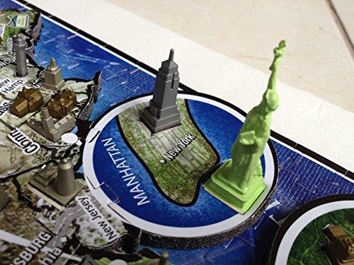 4d Cityscape Time Puzzle Usa Inglese Giocattolo 1 Settembre 2012 0 2