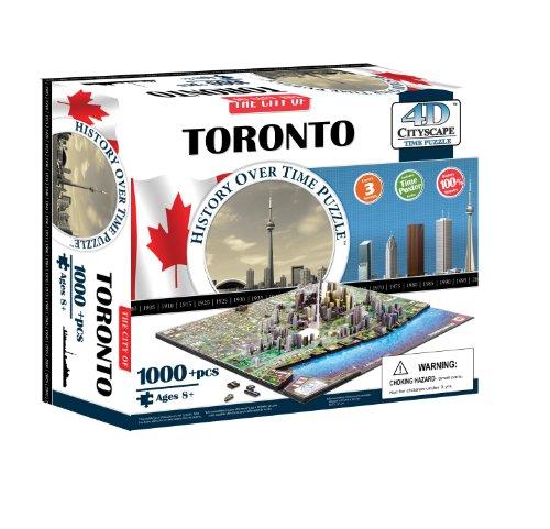 4d Toronto Cityscape Time Puzzle Lingua Inglese Inglese Giocattolo 1 Novembre 2010 0