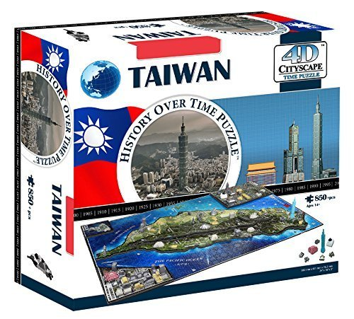 4dcityscape 4d Taiwan Puzzle By 4d Cityscape 0
