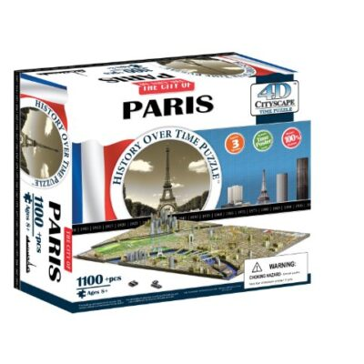 4dcityscape Time Puzzle Parigi 0