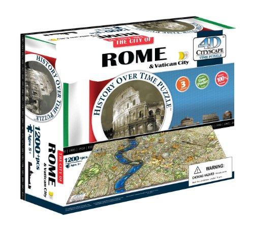 4dcityscape Time Puzzle Roma E Citt Del Vaticano 0