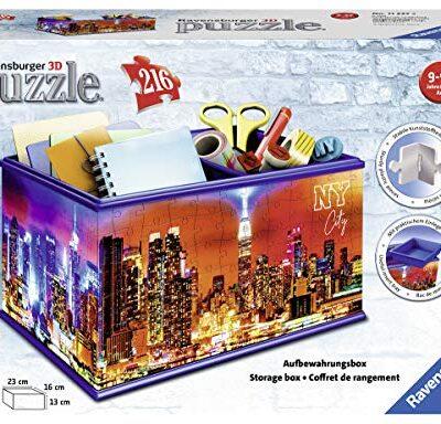 Aufbewahrungsbox Union Jack 3d Sonderformen 216 Teile Erlebe Puzzeln In Der 3 Dimension 0