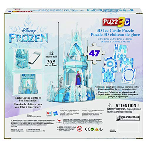 Cardinal Games Frozen Ii Puzzle In Plastica Da 47 Pezzi Il Castello Di Ghiaccio Di Elsa Tridimensionale Dagli 8 Anni In Su 6053088 0 0