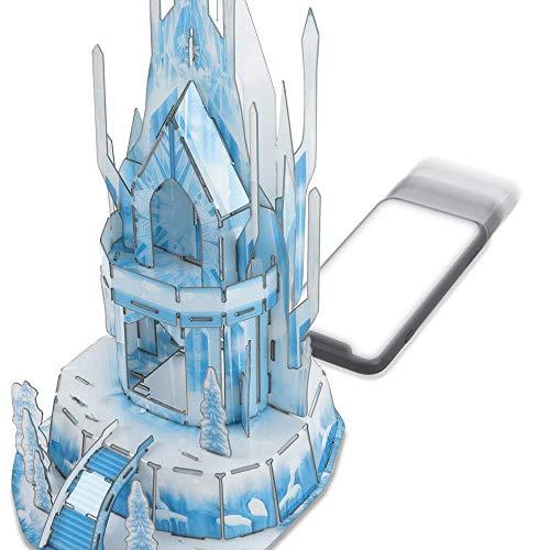 Cardinal Games Frozen Ii Puzzle In Plastica Da 47 Pezzi Il Castello Di Ghiaccio Di Elsa Tridimensionale Dagli 8 Anni In Su 6053088 0 2