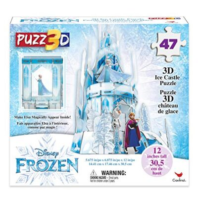 Cardinal Games Frozen Ii Puzzle In Plastica Da 47 Pezzi Il Castello Di Ghiaccio Di Elsa Tridimensionale Dagli 8 Anni In Su 6053088 0