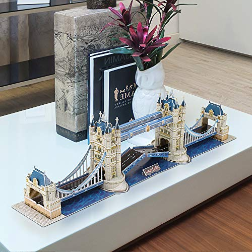 Cubic Fun Puzzle 3d City Traveller Del Tower Bridge A Londra National Geographic Cpa Toy Group Ds0978 0 0