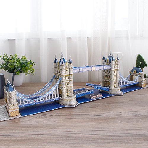 Cubic Fun Puzzle 3d City Traveller Del Tower Bridge A Londra National Geographic Cpa Toy Group Ds0978 0 2