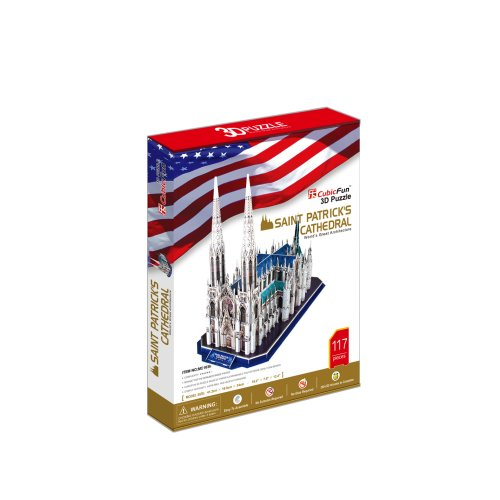 Cubicfun 3d Puzzle Cattedrale Di San Patrizio New York 0 0