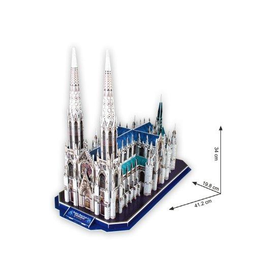 Cubicfun 3d Puzzle Cattedrale Di San Patrizio New York 0 1