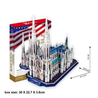 Cubicfun 3d Puzzle Cattedrale Di San Patrizio New York 0