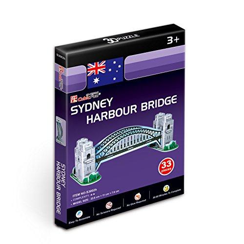 Cubicfun 3d Puzzle S Serie Sydney Harbour Bridge Sydney 0 0