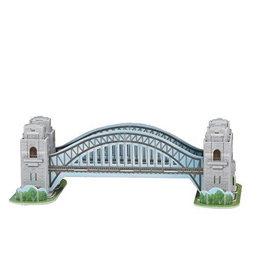 Cubicfun 3d Puzzle S Serie Sydney Harbour Bridge Sydney 0 2