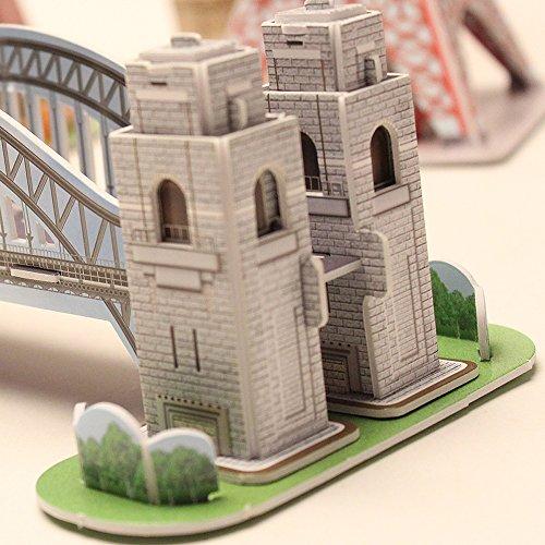 Cubicfun 3d Puzzle S Serie Sydney Harbour Bridge Sydney 0 3
