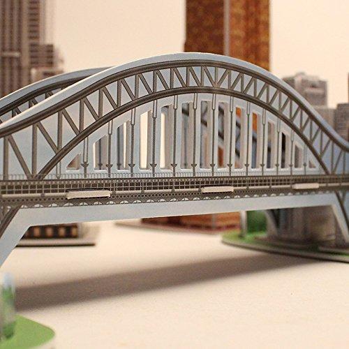 Cubicfun 3d Puzzle S Serie Sydney Harbour Bridge Sydney 0 4