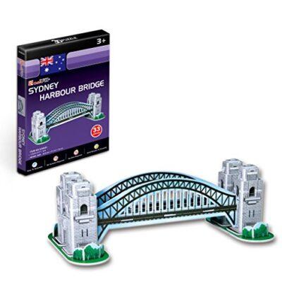 Cubicfun 3d Puzzle S Serie Sydney Harbour Bridge Sydney 0