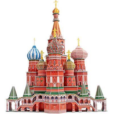 Cubicfun Mc093h 3d Puzzle Cattedrale Di San Basilio Cremlino Mosca Russia 0