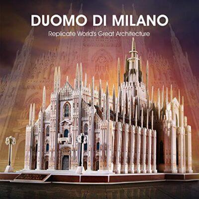 Cubicfun Puzzle 3d Italia Duomo Di Milano Kit Di Modelli Architettonici Souvenir Regalo Per Adulti E Bambini 251 Pezzi 0 0