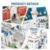 Cubicfun Puzzle 3d Per Bambini Adulti Germania Architettura Kit Di Modellismo Con Libretto Del National Geographic Castello Di Neuschwanstein 121 Pezzi 0 4