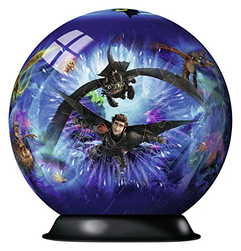 Dragons 3 3d Puzzle Ball 72 Teile Erlebe Puzzeln In Der 3 Dimension 0 0