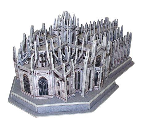 Duomo Di Milano Puzzle 3d Tridimensionale Da Assemblare Cm 27x15 0 0