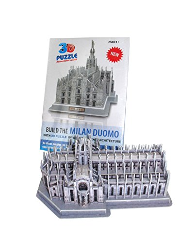 Duomo Di Milano Puzzle 3d Tridimensionale Da Assemblare Cm 27x15 0