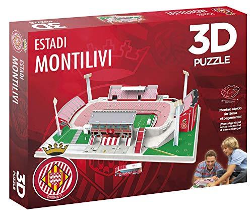 Eleven Force 10834 Puzzle Stadio 3d Montilivi Montilivi Girona Multicolore 1 0