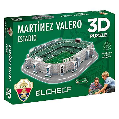Eleven Force Puzzle 3d Stadio Martnez Valero Prodotto Ufficiale Elche Cf 98 Pezzi Circa 0