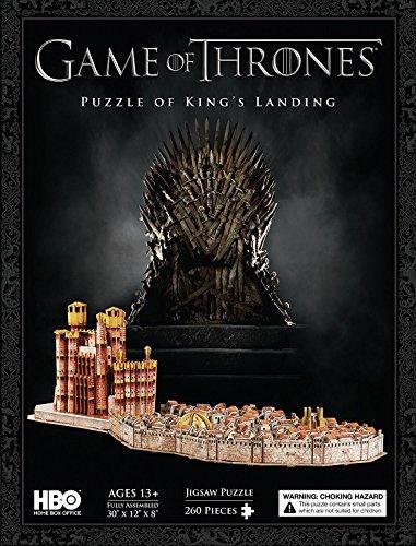 Game Of Thrones 3d Puzzle Knigsmund 260pieces 76x30x20cm 0 1