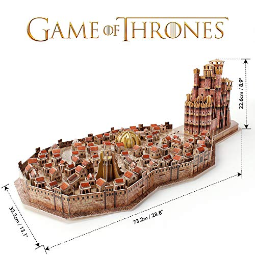Game Of Thrones King Landing Puzzle 3d 0 1