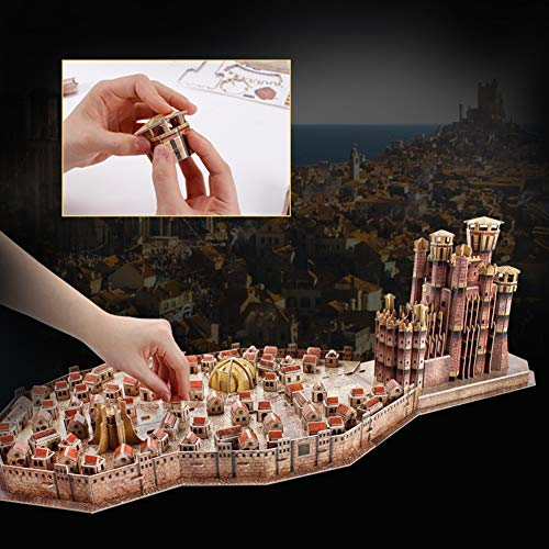 Game Of Thrones King Landing Puzzle 3d 0 2