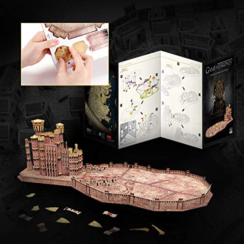 Game Of Thrones King Landing Puzzle 3d 0 3