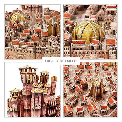 Game Of Thrones King Landing Puzzle 3d 0 5
