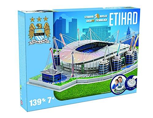 Giochi Preziosi 70037451 Puzzle 3d Stadio Etihad Manchester City 139 Pz Adatto A 7 Anni 0 0