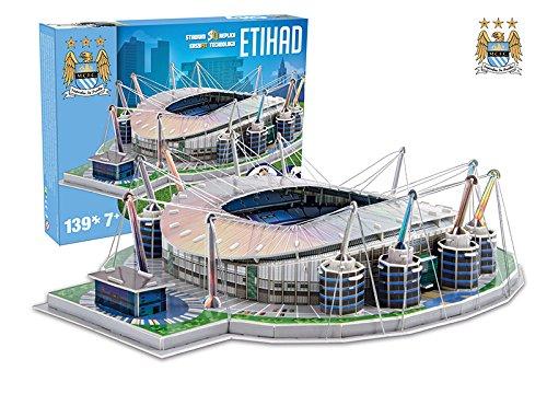 Giochi Preziosi 70037451 Puzzle 3d Stadio Etihad Manchester City 139 Pz Adatto A 7 Anni 0 1