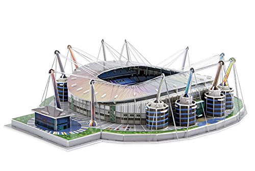 Giochi Preziosi 70037451 Puzzle 3d Stadio Etihad Manchester City 139 Pz Adatto A 7 Anni 0 3