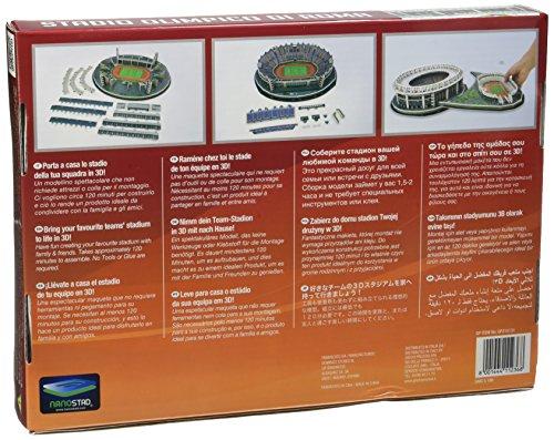 Giochi Preziosi Nanostad Puzzle 3d Stadio Olimpico Roma 0 0