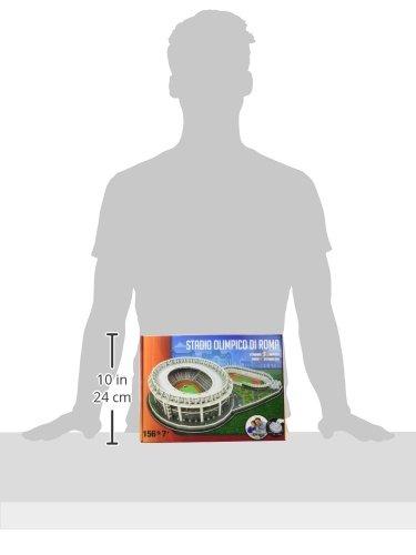 Giochi Preziosi Nanostad Puzzle 3d Stadio Olimpico Roma 0 1