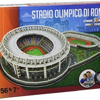 Giochi Preziosi Nanostad Puzzle 3d Stadio Olimpico Roma 0