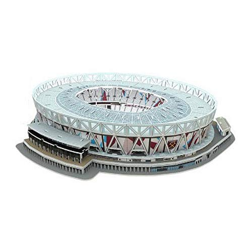 Nanostad West Ham Uniteds London Stadium Puzzle 3d Colore Multicolore 3865 0 0