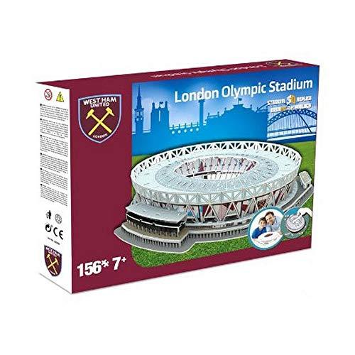 Nanostad West Ham Uniteds London Stadium Puzzle 3d Colore Multicolore 3865 0
