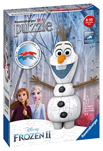 Olaf Ravensburger Frozen 2 3d Puzzle Multicolore 11157 0 0