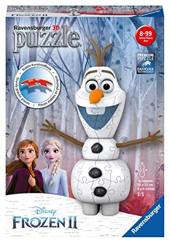 Olaf Ravensburger Frozen 2 3d Puzzle Multicolore 11157 0