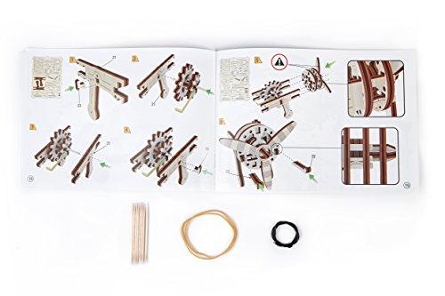 Puzzle 3d Meccanico Biplane By Woodencity Modellino Di Progetti Per Adulti E Bambini 3d Modello Tecnico In Legno 0 5