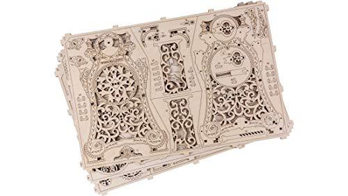 Puzzle 3d Meccanico Magic Clock By Woodencity Modellino Di Progetti Per Adulti E Bambini 3d Modello Tecnico In Legno 0 1