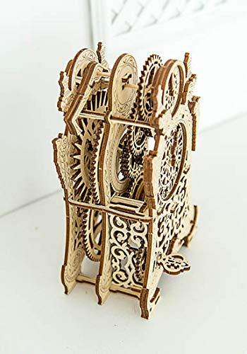 Puzzle 3d Meccanico Magic Clock By Woodencity Modellino Di Progetti Per Adulti E Bambini 3d Modello Tecnico In Legno 0 2