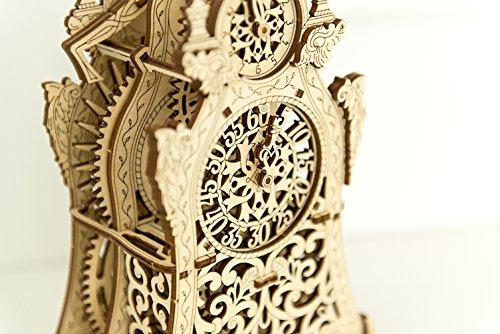 Puzzle 3d Meccanico Magic Clock By Woodencity Modellino Di Progetti Per Adulti E Bambini 3d Modello Tecnico In Legno 0 5